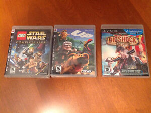 Jeux PS3 Games - Lego Star Wars, Up, Bioshock Infinite