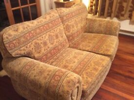 Tapestry 2 seater and 3 seater sofa