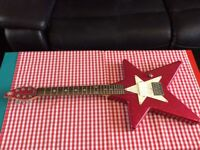Extremely Rare Daisy Rock 3/4 Electric Guitar Very Cool Stunning Pink Sparkle