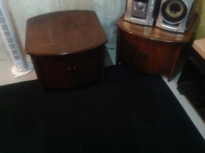 Matching side tables - great DIY project Kitchener / Waterloo Kitchener Area image 1