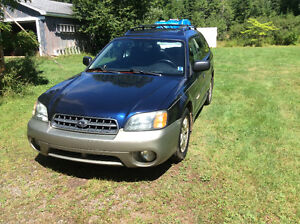 2003 Subaru Outback Grey Wagon