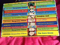 Job lot of Jacqueline Wilson books