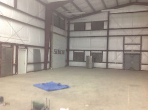Cold storage or shop 4000 or 2000 sf