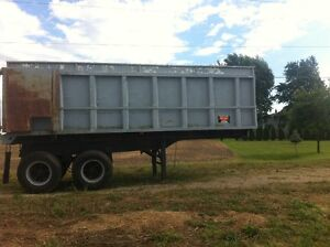 24' dumper and other farm wagons Windsor Region Ontario image 1