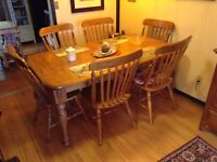 Dining Table & Chairs (Ashley Furniture)