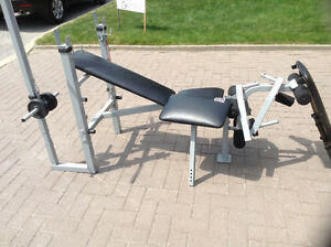 HOME WORKOUT EXERCISE BENCH