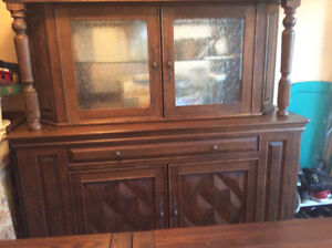 Real Wood Dining Room Set West Island Greater Montréal image 2