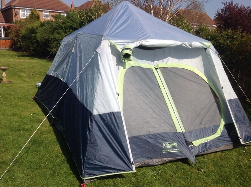 Coleman instant 10 person pop up tent & Coleman instant 10 person pop up tent | in Hull East Yorkshire ...