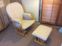 rocking chair with footstool - Nursing Chair
