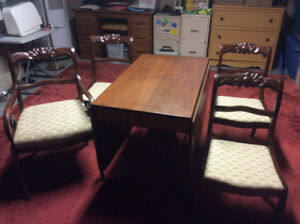 Duncan Phyfe Dining Set Part 77