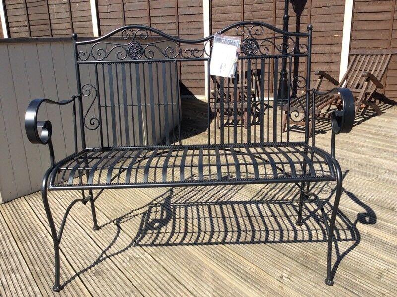 Brand New Folding Metal Garden Bench | In Wisbech, Cambridgeshire | Gumtree