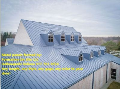Brand new 26,24, or 22 gage Standing Seam Metal Roofing Panels