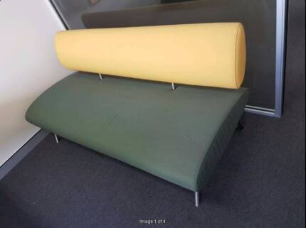 Pair of Modern Couch / Lounge / Sofa