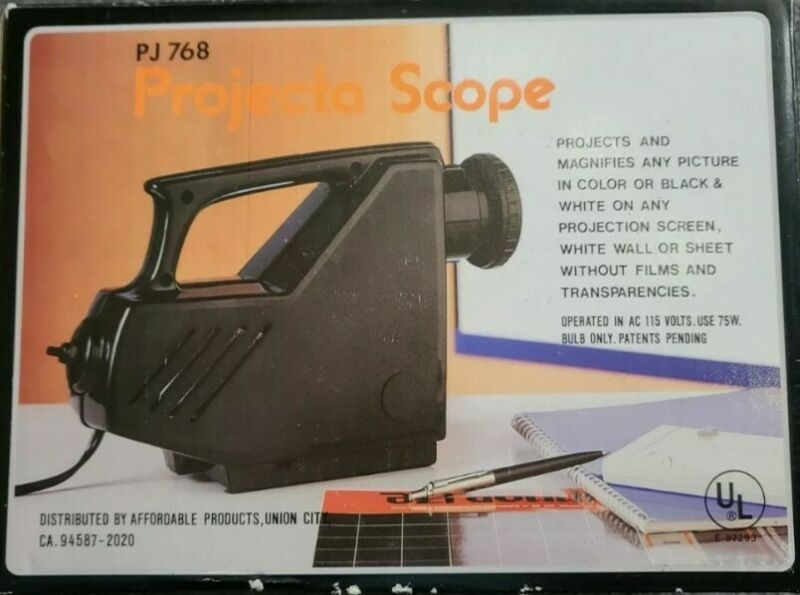 Projecta Scope PJ768 -  Projects and Magnifies Pictures