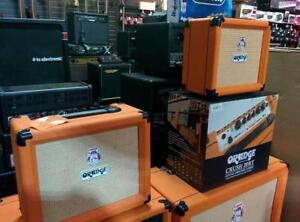 ORANGE AMPLIFICATION - LEGENDARY TONE - EXCEPTIONAL PRICES - GUITAR AND BASS -MANY MODELS - PLEASE CONTACT US FOR PRICES