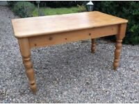 Solid Pine 4 6 Seater Dining Table Kitchen Farmhouse Shabby Chic