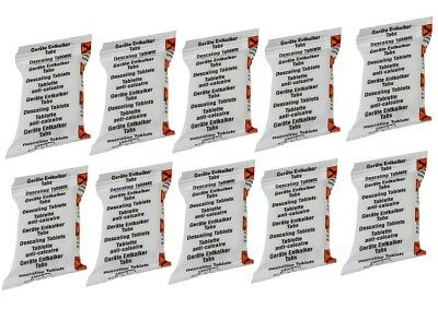 10 X DESCALING DESCALER TABLETS FOR TASSIMO BOSCH T-DISK T-DISC COFFEE MACHINES