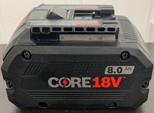 BOSCH GBA18V63 18V 18 Volt Li-Ion 6.3 AH Core 18V Battery Pack New NIP