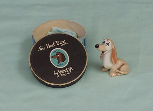 Wade Dachie Whimsies Disney Hat Box Series Figurine England Lady & The Tramp