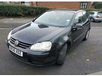 Volkswagen GOLF 1.9 TDi SE 3dr 2005 Diesel Hatchback BLACK Manual LOW MILEAGE HISTORY.