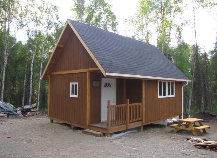 16 x 24 lofted cabin joy studio design gallery best design for Shed with loft and porch