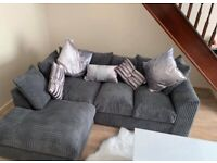 XMAS👑BRAND NEW COUCHES👑 DYLAN JUMBO CORD CORNER & 3+2 SETTER SOFA *AVAILABLE NOW*