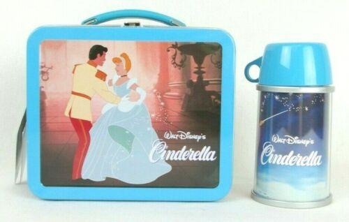 Hallmark Cinderella 2001 School Days Limited Edition Mini Lunchbox & Thermos New