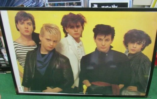DURAN DURAN POSTER NEW 1984 RARE VINTAGE COLLECTIBLE OOP
