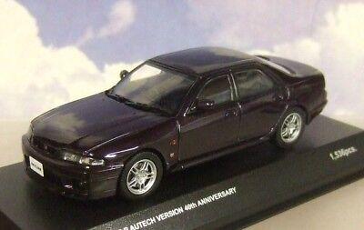 KYOSHO 1/43 1998 NISSAN SKYLINE GT-R AUTECH VERSION 40TH ANNIV. MIDNIGHT PURPLE