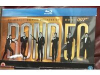 Bluray James Bond complete collection 22 movies 1962-2012 £50 absolutely no offers