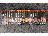James Bond VHS Set (x20 VHS)