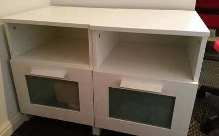 2 x IKEA Bedside Tables for Sale Waterloo Inner Sydney Preview