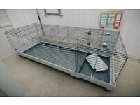 Rabbit or guinea pig indoor cage, large