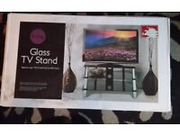 New TV stand in box