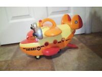 Happyland Safari plane with sound
