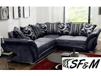 ☄️☄️Brand New Shannon 3+2, Corner Sofa Order Same Day For Home Delivery Order Now☄️☄️
