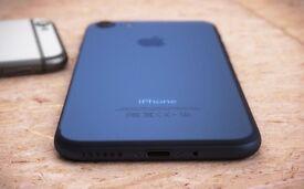 Apple iphone 7 matt black 256GB UNLOCKED SIMFREE