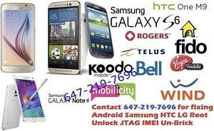 Samsung HTC LG Android Service: Unlock Root Unbrick JTAG Repair FRP Baseband IMEI Bricked FIX
