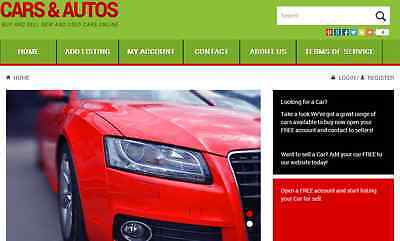 Auto Cars Marketplace  Profitable Website Design Service
