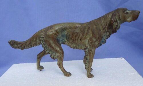"""bronze ENGLISH SETTER Springer Spaniel hunting dog 11"""""""