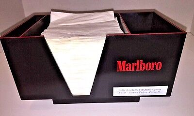 Marlboro Branded Bar Napkin Straw Holder Mug Bundle.