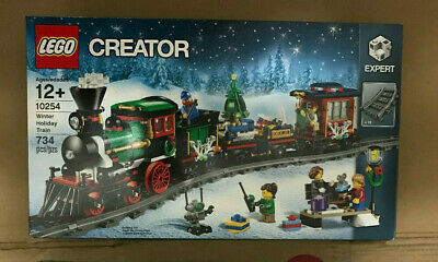 Lego Creator 10254 Winter Holiday Train new sealed not mint box wear Christmas