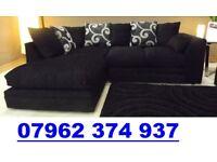 PRE XMAS DELIVERY Luxury Corner sofa black or brown