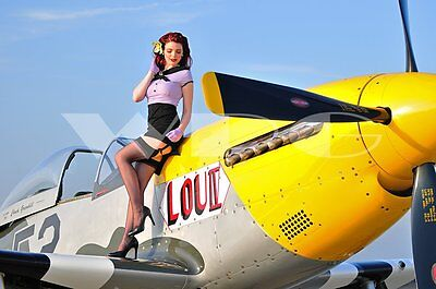 Miss November 2017 Carolyn - Warbird Pinup Girls PhotoArt - Made in the USA