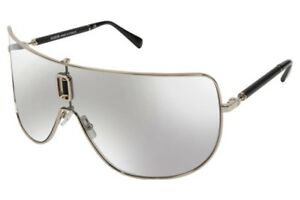 b061c91cdbe639 Authentic BALMAIN Shield Sunglasses BL 8090 C01 Gold-Black / Grey Gradient  Lens