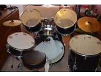 Drum Kit - 5 piece learner PP Drum kit