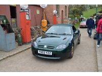 MG TF 2003 British Racing Green