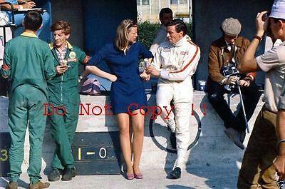 Jim Clark Lotus F1 Portrait Italian Grand Prix 1967 Photograph 1