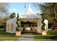 First Class Marquee Hire for weddings & events