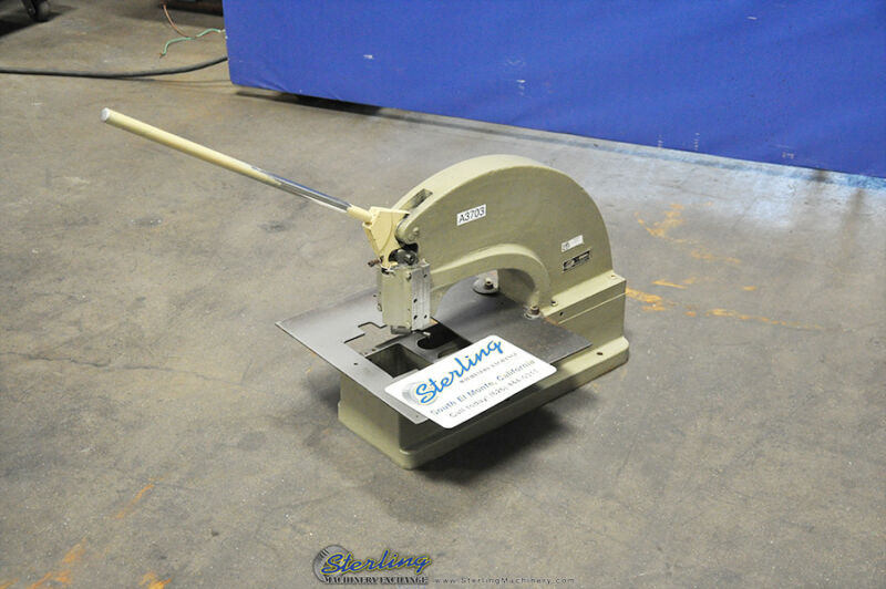 4 Ton Used Di-Acro Hand Punch Press #2 A3703